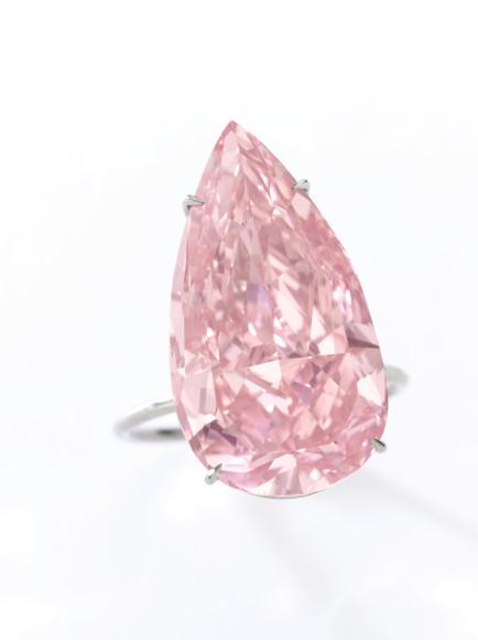 Кольцо с бриллиантом Unique Pink