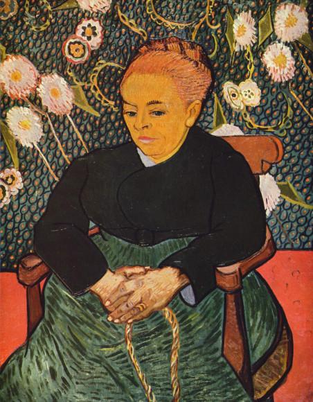 Винсент Ван Гог.«Колыбельная» («Августин Рулен»), 1889