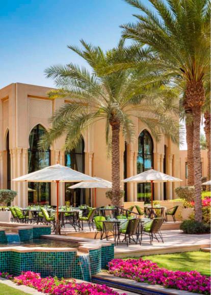 Ресторан The Dining Room, отельResidence & SPA, One&Only Royal Mirage (Дубай)