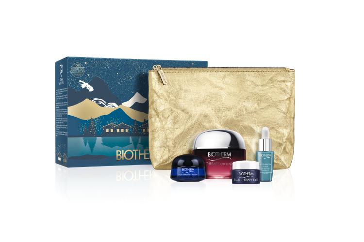 Набор для антивозрастного ухода за кожей лица Blue Therapy Set, Biotherm