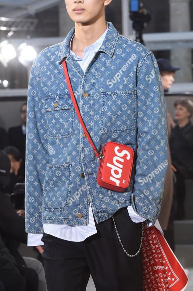 Фото: пресс-службы Louis Vuitton и Supreme
