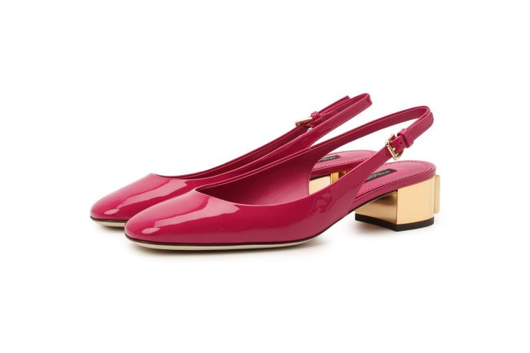 Кожаные туфли Alexa, Dolce & Gabbana, 59 950 руб.