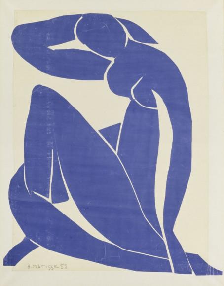 Henri Matisse. «Blue Nude (||)», 1952 г.