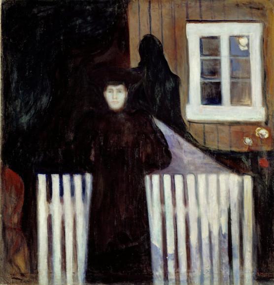 Эдвард Мунк. «Moonlight», 1893