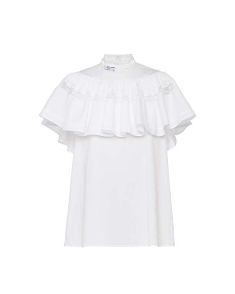 Капсульная коллекция Prada из белого поплина