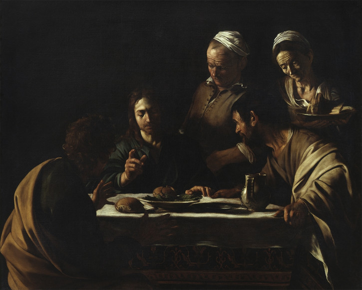 Michelangelo Merisi, dit Caravage, Le Souper à Emmaüs