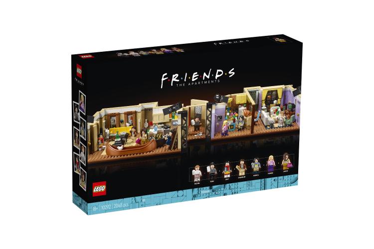 Набор Lego с квартирамигероев сериала «Друзья»