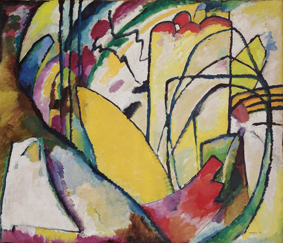 Василий Кандинский. «Импровизация 10», 1910