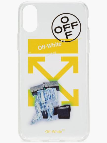 Чехол для айфона Ice Man Off-White (Farfetch), 7508 руб.