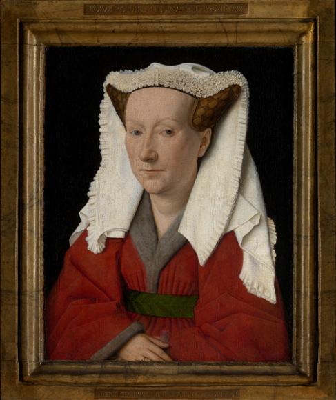 Ян ван Эйк, портрет Маргариты ван Эйк, 1439