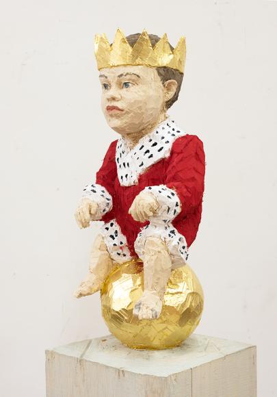 Стефан Балкенхол. «Король-младенец»