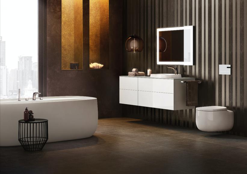 Ванная комната оттенка Iridia