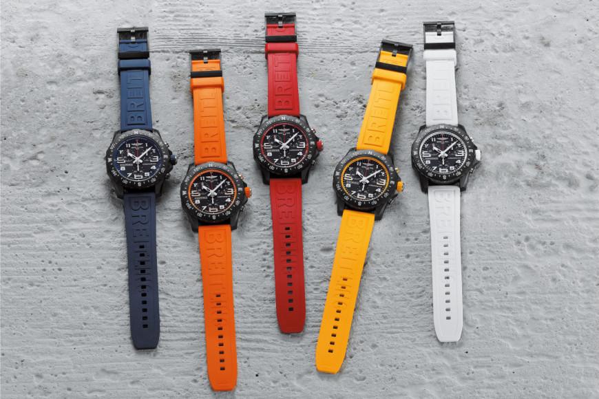 Часы Endurance PRO с цветными ремешками, Breitling