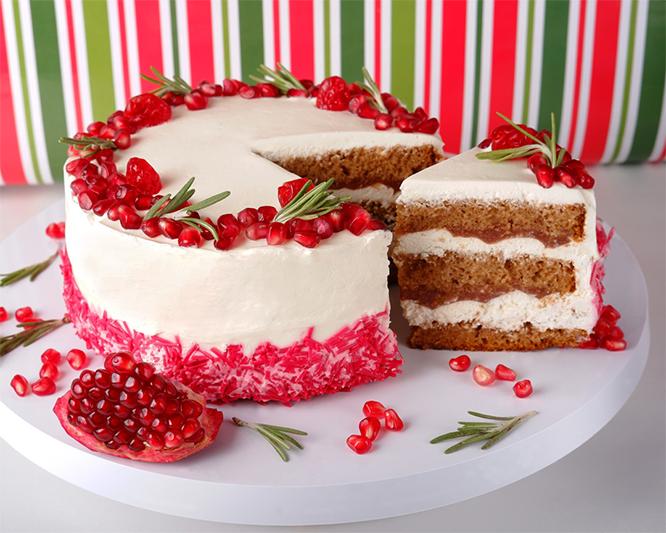 Гранатовый торт