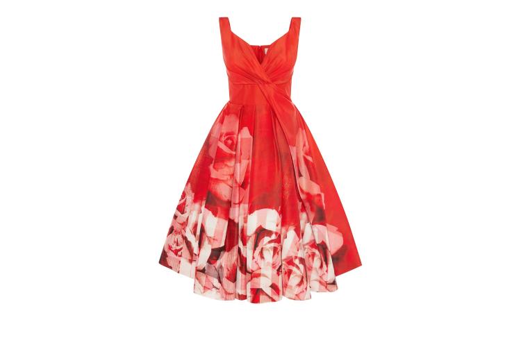 Платье Alexander McQueen, 419 500 руб. (Третьяковский проезд)