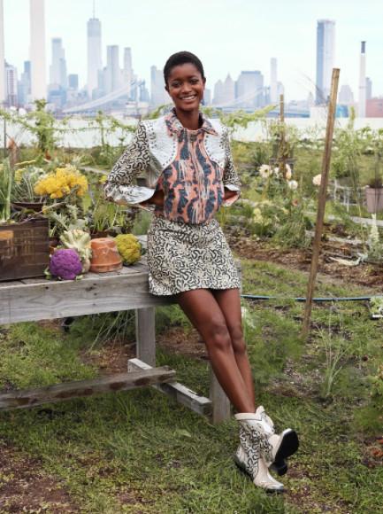 Куртка из ананасовых листьев,H&M Conscious Exclusive