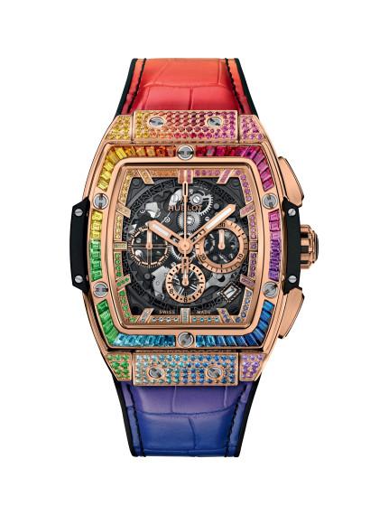 Часы Spirit of Big Bang King Gold Rainbow, Hublot