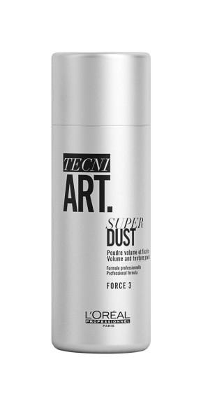 Пудра для создания прикорневого объема и средней фиксации волос, Art Super Dust Volume and Texture Powder, L'Oreal Professionnel Tecni