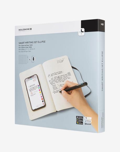 Набор Moleskine Smart: блокнот Paper Tablet, ручка PEN+ Ellipse (Ozon)