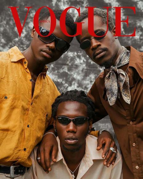 Работы участниковфлешмоба #VogueChallenge