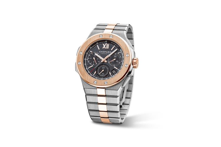 Часы Alpine Eagle XL Chrono, Chopard, 2 223 850 руб. (Mercury)