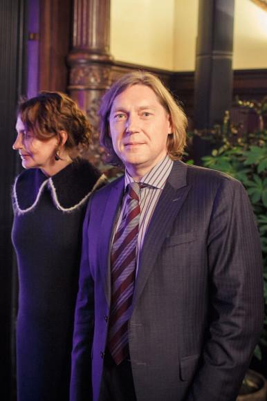 Александр Путилов, ведущий менеджер в области горнодобывающей промышленности, с супругой Татьяной Путиловой