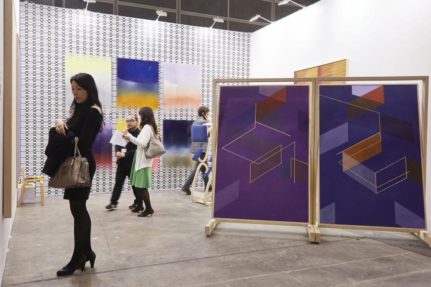 Экспозиция BMW Art Journey на выставке Art Basel в Гонконге
