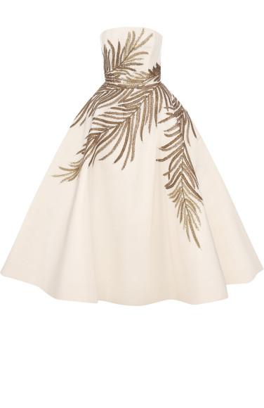 Платье Oscar de la Renta (ЦУМ) — 1235000 руб.