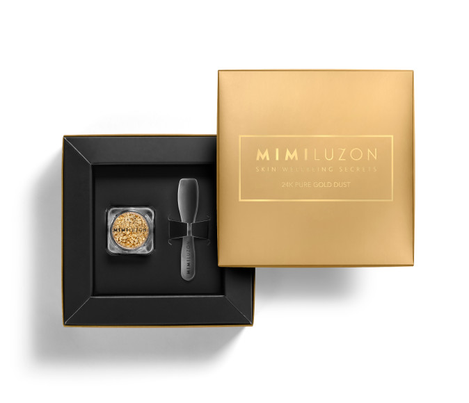 Косметическая пудра для лица 24K Pure Gold Dust, Mimi Luzon