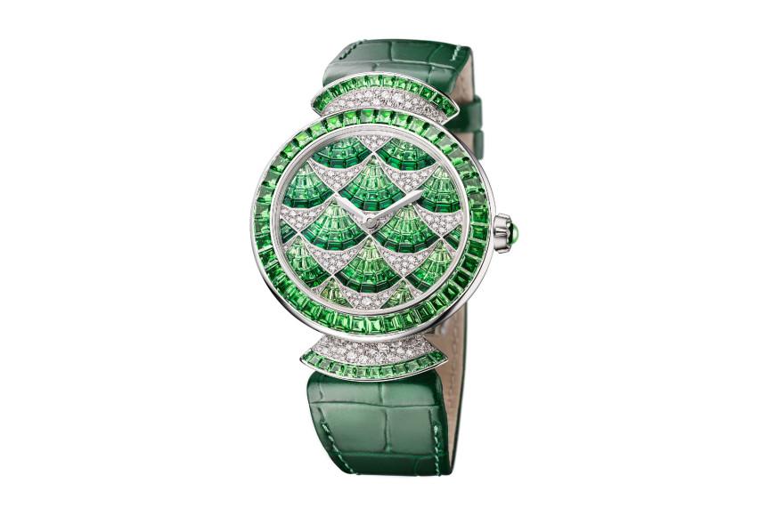 Часы Divina Mosaica с цаворитами, Bvlgari