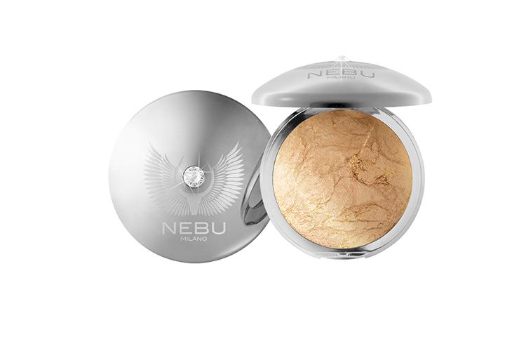 Пудра-хайлайтер для лица и тела, Platinum, NEBU