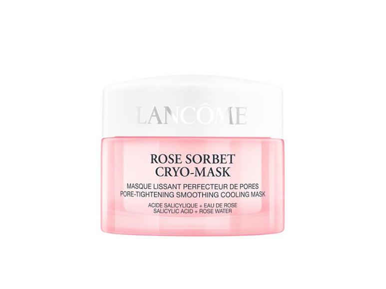 Маска охлаждающая Confort Rose Sorbet с салициловой кислотой, розовой водой и экстрактом таволги, Lancôme