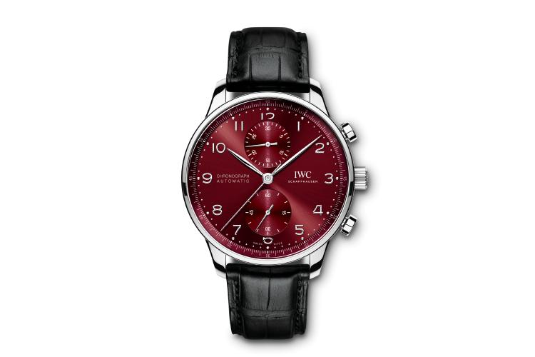 Часы Portugieser Chronograph, IWC Schaffhausen