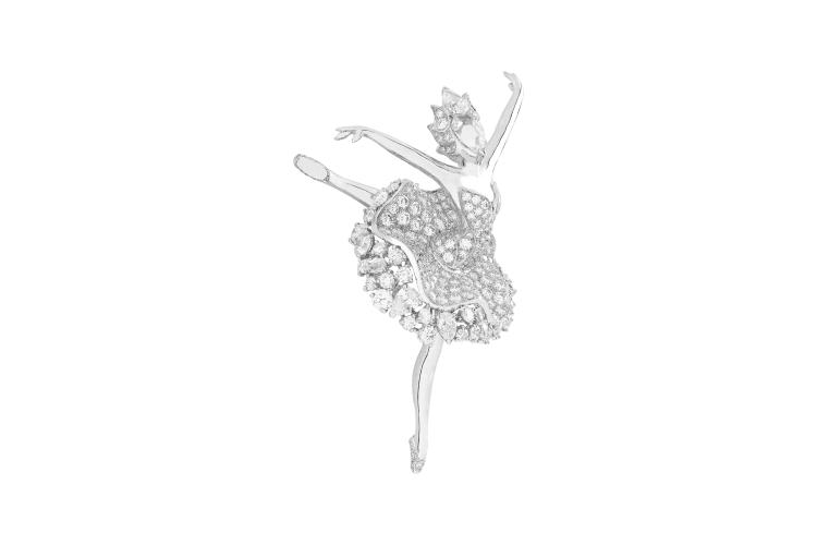 Брошь-балерина Odette из коллекции Ballet Precieux, Van Cleef & Arpels