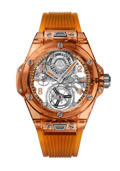 ЧасыBig Bang Tourbillon Automatique Sapphire Orange, Hublot