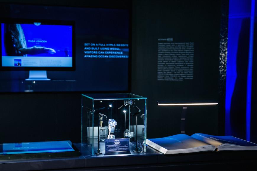 Выставка дайверских часов швейцарского дома Blancpain