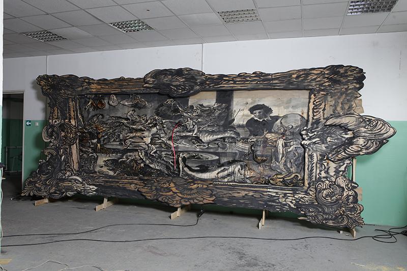 Картина Александра Шишкина-Хокусая «Фламандская школа»