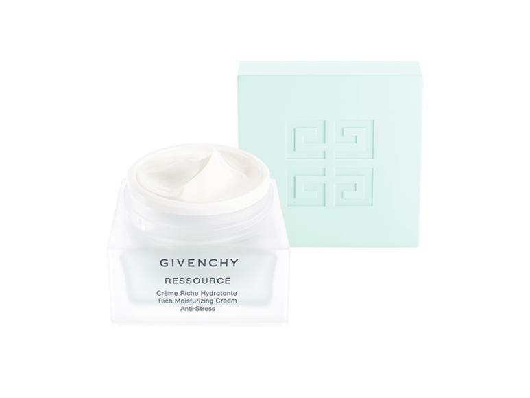 Питательный увлажняющий крем для лица Антистрессс комплексом Beauty Moss Complex на основе зеленого мха и бессмертника песчаного, Ressource, Givenchy