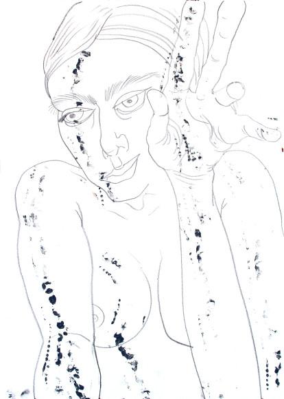 Ксения Маркелова, «Ex vasis, лист 1», 2020