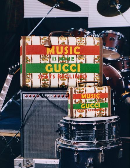 Рекламная кампания Gucci 100, снятая Джошуа Вудсом