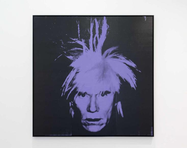 Энди Уорхол. Self-Portrait, 1986