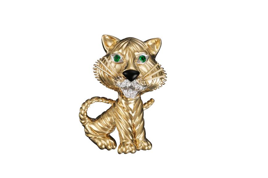 Брошь Tigre из коллекции La Boutique, 1968 год