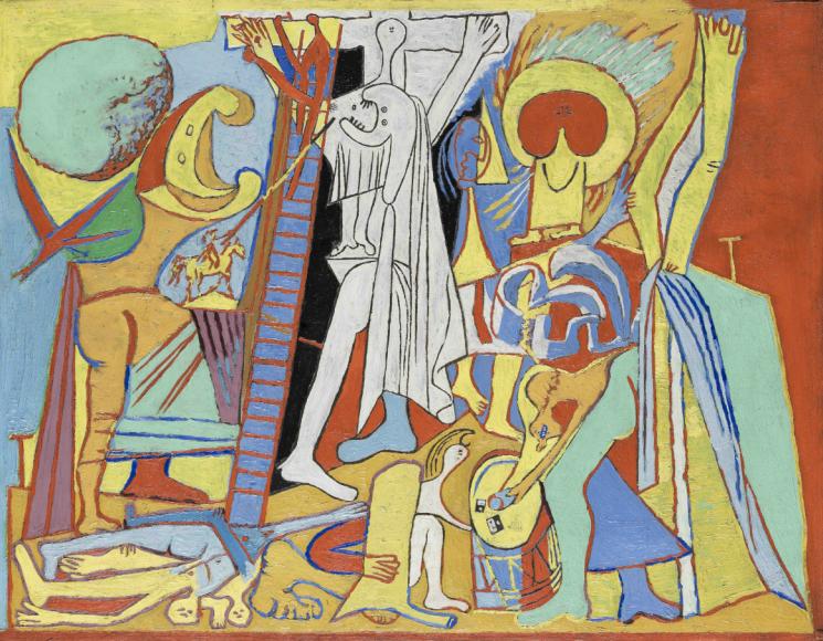 Пабло Пикассо. Распятие. Париж, 7 февраля 1930 Национальный музей Пикассо, Париж
