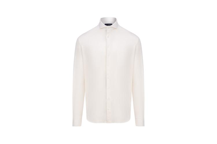 Рубашка Lardini, 15 168 руб. («Кашемир и шелк»)