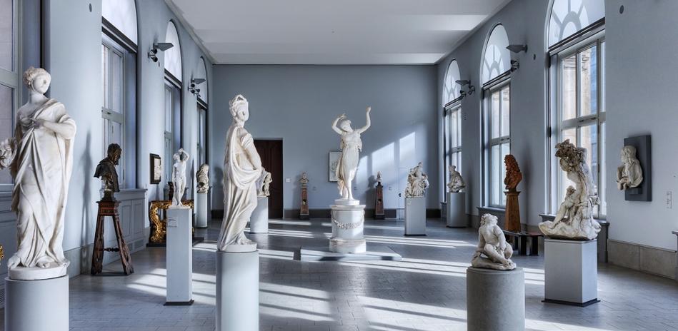 Скульптуры Леонарда Керна в музее Боде