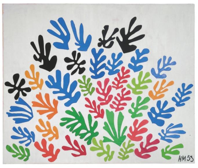 Henri Matisse. «The Sheaf», 1953 г.