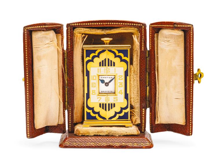 Часы Altar в стиле ар-деко, 1925,эстимейт 15-20 тыс. CHF