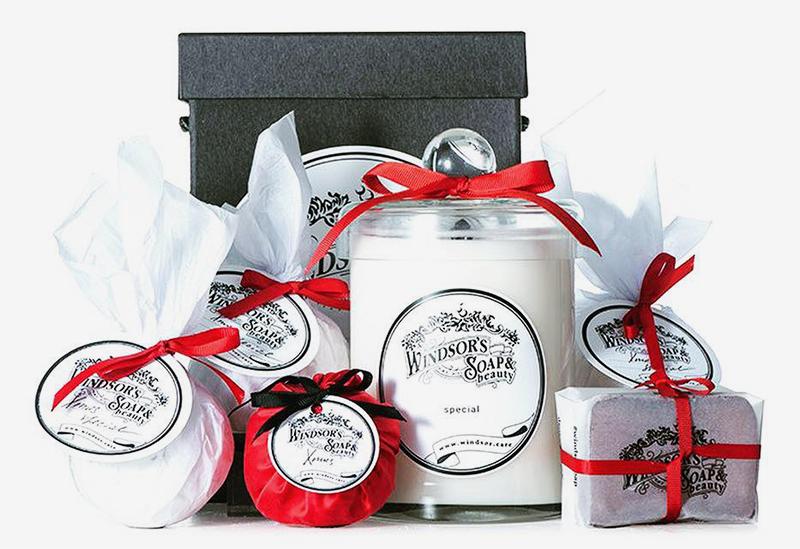 Набор Xmas #3: свеча, мыло, бомба для ванны, саше,Windsor Soap, 8990 руб.