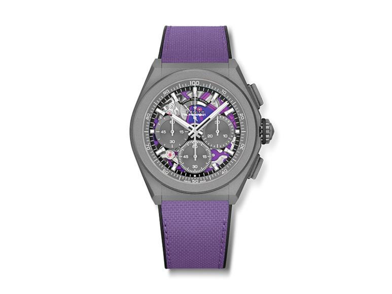 Хронограф Defy Ultraviolet, Zenith