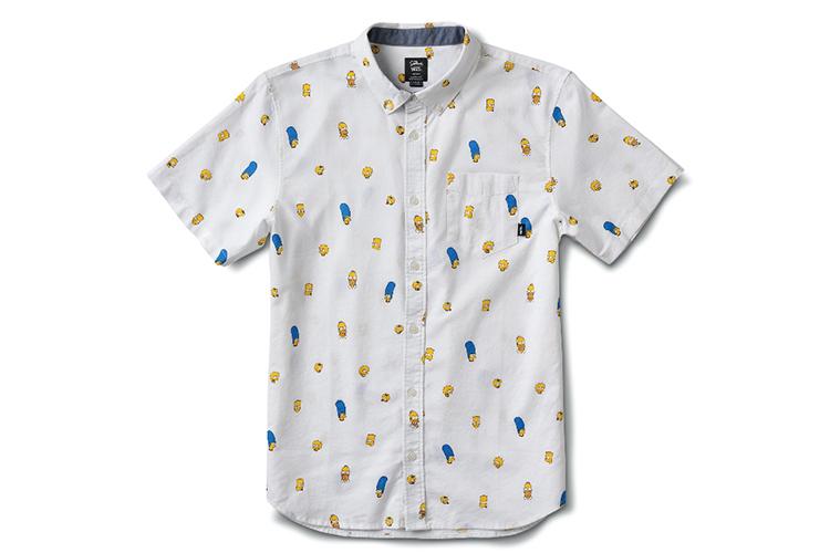Рубашка Vans с Симпсонами, 5290 руб. (Vans)